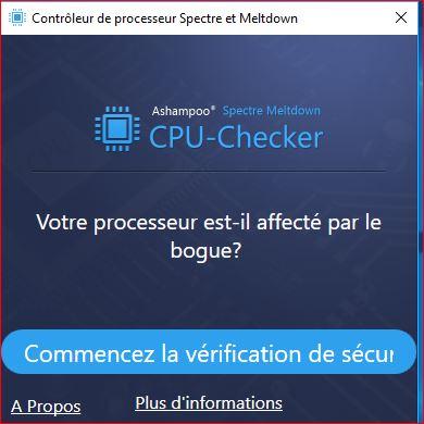 Spectre Meltdown CPU Checker Spectr10