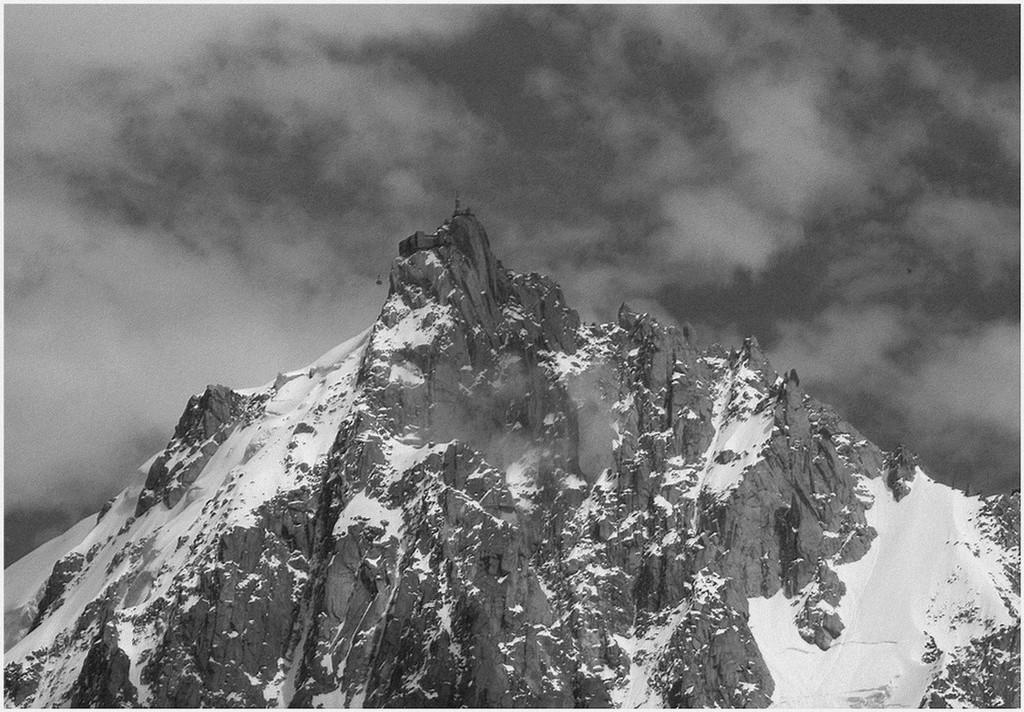 Aiguille du Midi Chamonix  N et B Img_3610