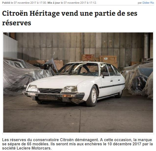 Citroën Héritage vend une partie de son patrimoine Captur17