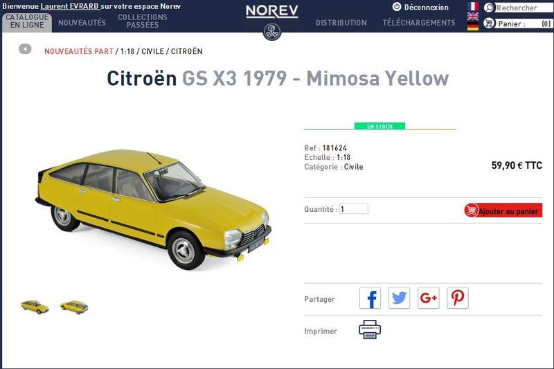 GS 1/18 NOREV Norev10