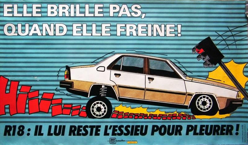 La nouvelle auto de Mme Evrix R1810