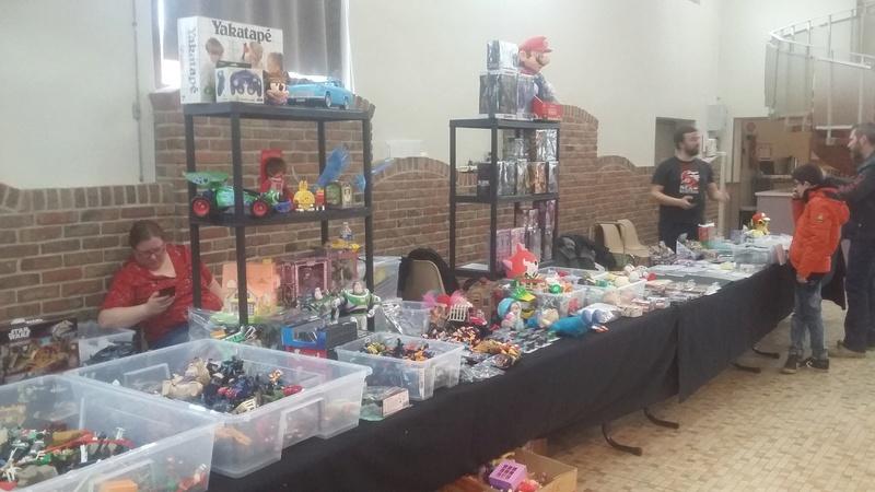 Salon Vint-toys à Merville (59 Nord) 28/01/2018 20180126