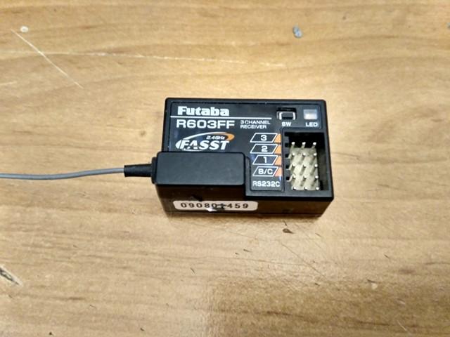 [VDS]Futaba Récepteur R603FF pour Radio 3pm, 4pk, 4pks 26241710