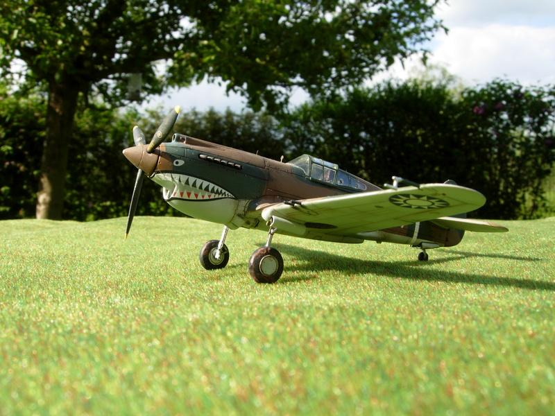 CURTISS P-40 Hawk 81-A-3 / Tomahawk IIB (Airfix) Dscn2810
