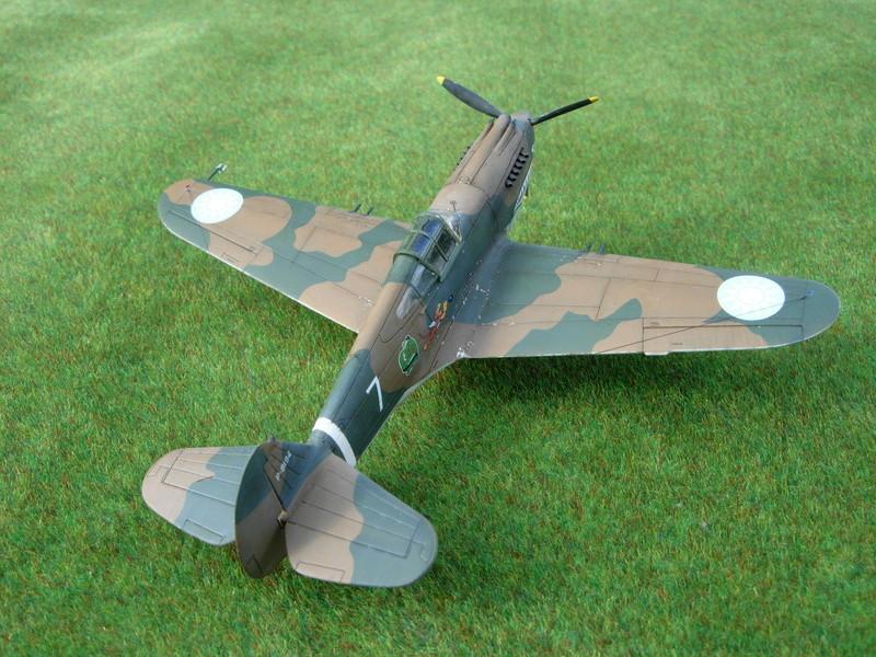 CURTISS P-40 Hawk 81-A-3 / Tomahawk IIB (Airfix) Dscn2813