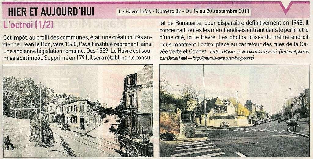 Havre - Le Havre - Bureau d'Octroi d'Etretat rue Cochet  2011-013