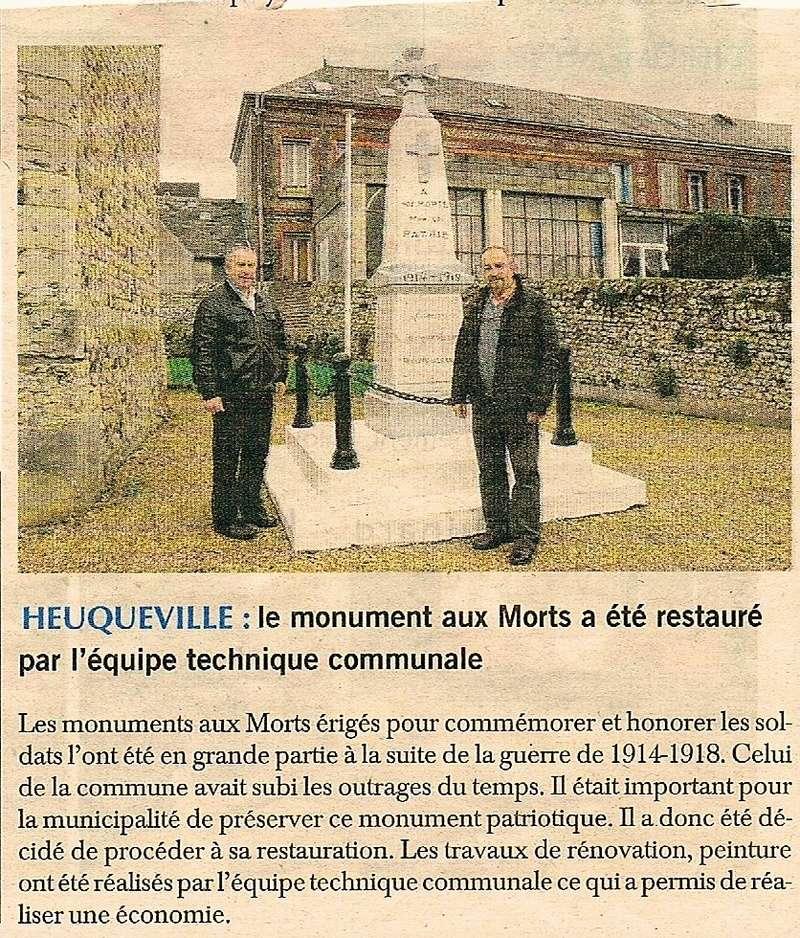 Le monument aux Morts d'Heuqueville restauré 2016-125