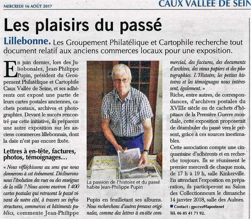 Lillebonne - Philatélie et cartophilie par PUPIN 2017-030