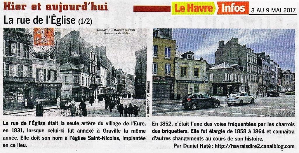 Havre - Le Havre - Rue de l'Eglise (Eure) 2017-075