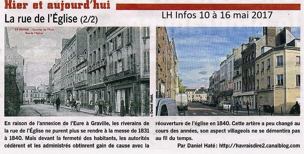 Havre - Le Havre - Rue de l'Eglise (Eure) 2017-076