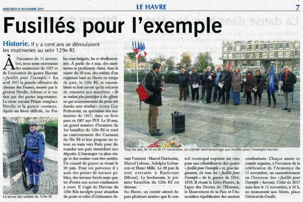 lefrançois - Mémoire des fusillés du 129 RI 2017-119