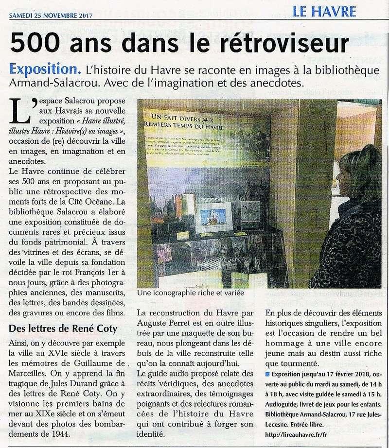 Havre - Havre illustré, illustre Havre : Histoire(s) en images à la bibliothèque Salacrou 2017-130