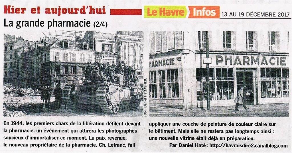 Havre - Le Havre - La grande pharmacie rue Thiers  2017-144
