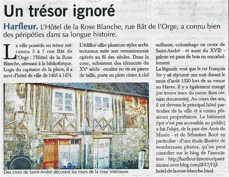 L'Hôtel de la Rose Banche à Harfleur 2018-011
