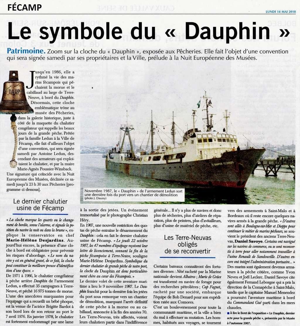 Le chalutier Le Dauphin à Fécamp 2018-046