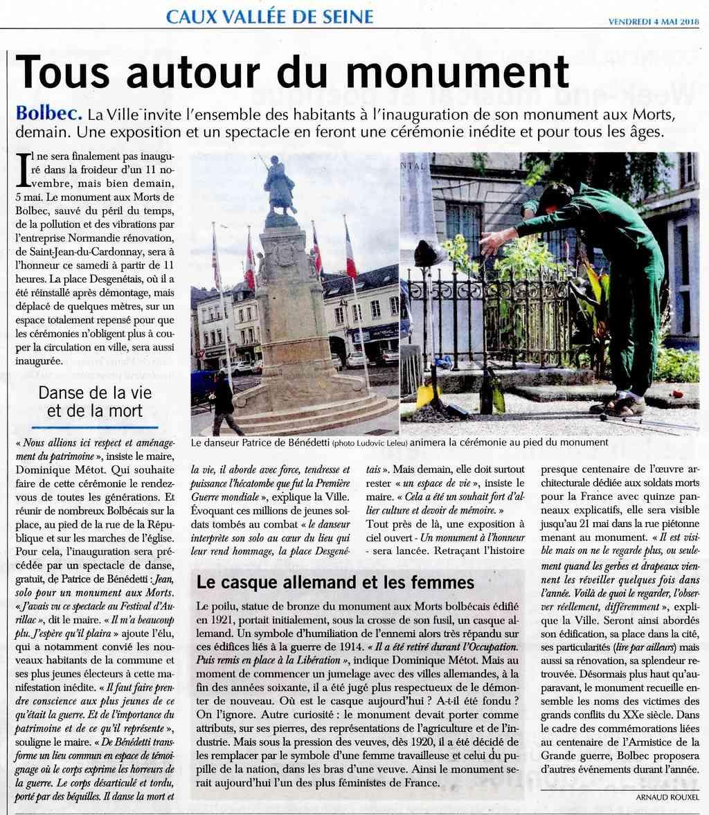 Bolbec - Monument aux Morts déplacé 2018-048