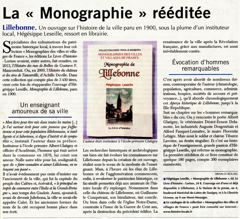 Monographie Lillebonne rééditée 2018-057
