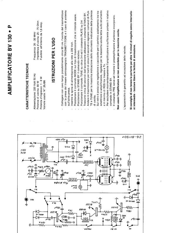 [TROUVE] Notice d' utilisation et réglages ZETAGi BV130P Bv130p12
