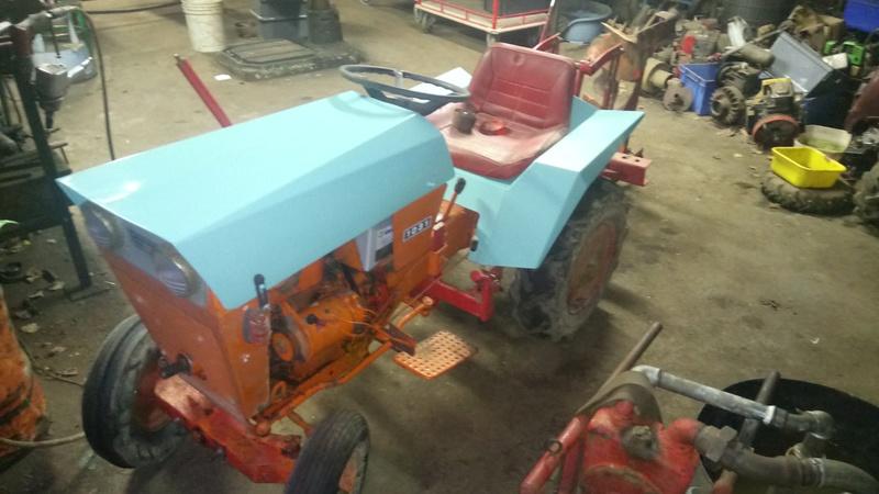 TRACTEUR - Micro-tracteur Motostandard 1031, bientot dans la cour Dsc_0617
