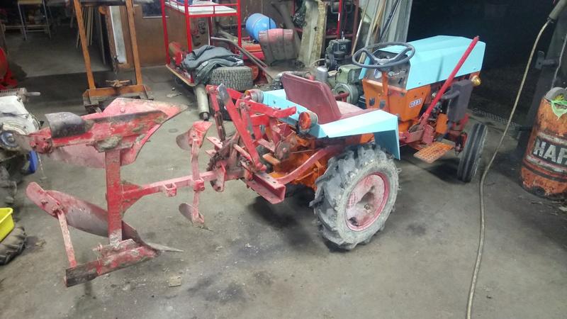 TRACTEUR - Micro-tracteur Motostandard 1031, bientot dans la cour Dsc_0618