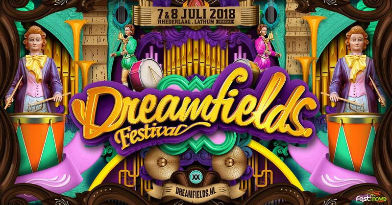 DREAMFIELDS FESTIVAL - samedi 7 Juillet 2018 - Recreatieterrein Rhederlaag, Lathum - NL 25188910