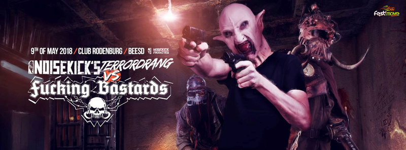 Noisekick's Terrordrang vs Fucking Bastard - Mercredi 9 Mai 2018 - Club Rodenburg - Beesd - NL 25299810