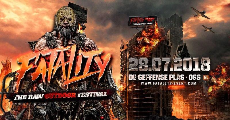 Fatality - The RAW Outdoor Festival - 28 Juillet 2018 - Geffense Plas - Oss - NL 26172410