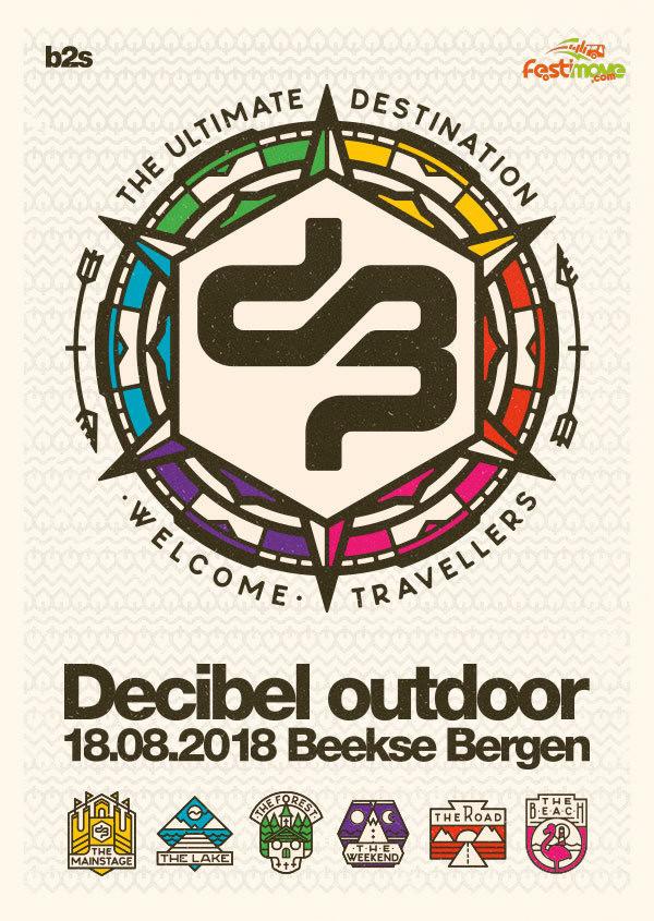 DECIBEL OUTDOOR - 17 au 20 Aout 2018 - Beekse Bergen, Hilvarenbeek - NL Decibe10