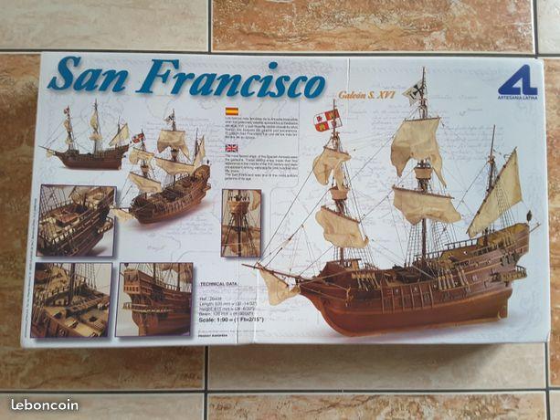 """Le """" SAN FRANCISCO """" Kit AL au 1/90° Annonc10"""