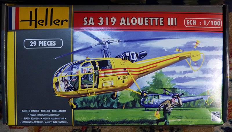 SUD AVIATION SA 319 ALOUETTE III prototype 1/100ème Réf CADET 79745 Alcade10