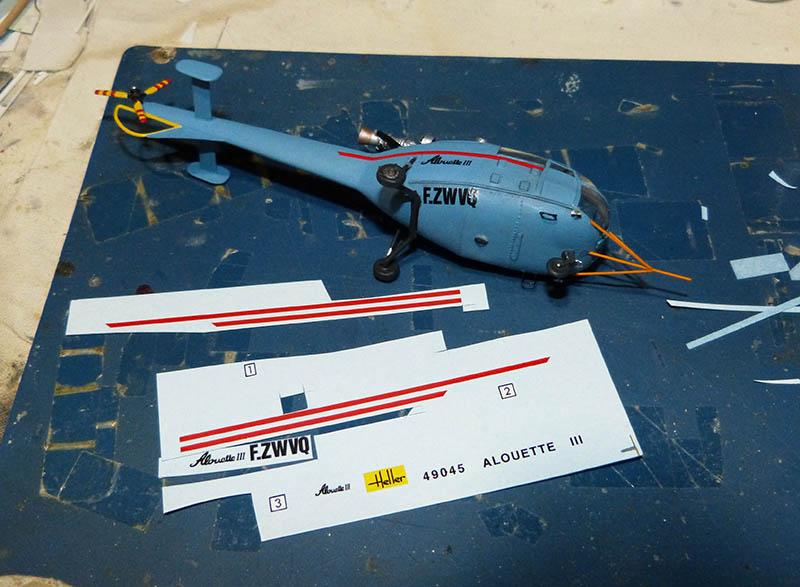 SUD AVIATION SA 319 ALOUETTE III prototype 1/100ème Réf CADET 79745 - Page 2 Alcade38