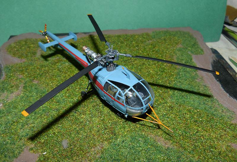 SUD AVIATION SA 319 ALOUETTE III prototype 1/100ème Réf CADET 79745 - Page 2 Alcade42