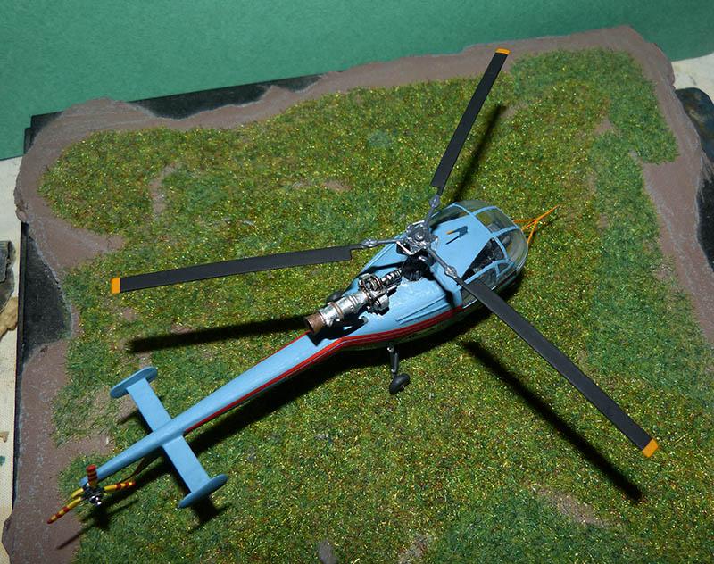 SUD AVIATION SA 319 ALOUETTE III prototype 1/100ème Réf CADET 79745 - Page 2 Alcade44