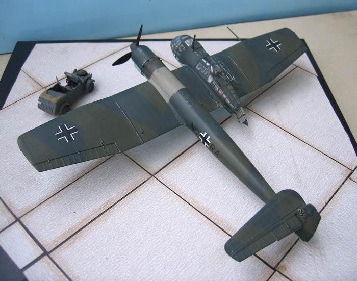 Blohm & Voss 141 - Airfix - 1/72 Bv_14112