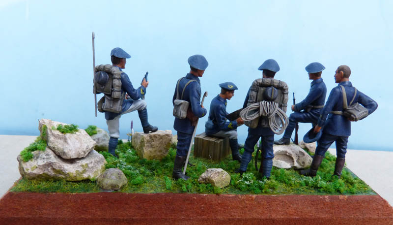 Chasseurs alpins années 30 - Heller - 1/35. Chasse10
