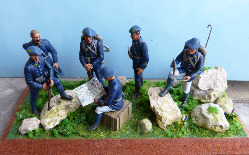 Chasseurs alpins années 30 - Heller - 1/35. Chasse11