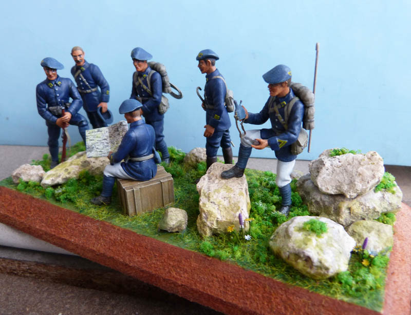 Chasseurs alpins années 30 - Heller - 1/35. Chasse12