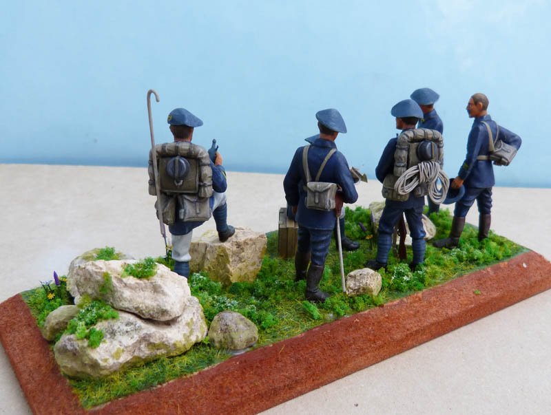 Chasseurs alpins années 30 - Heller - 1/35. Chasse14
