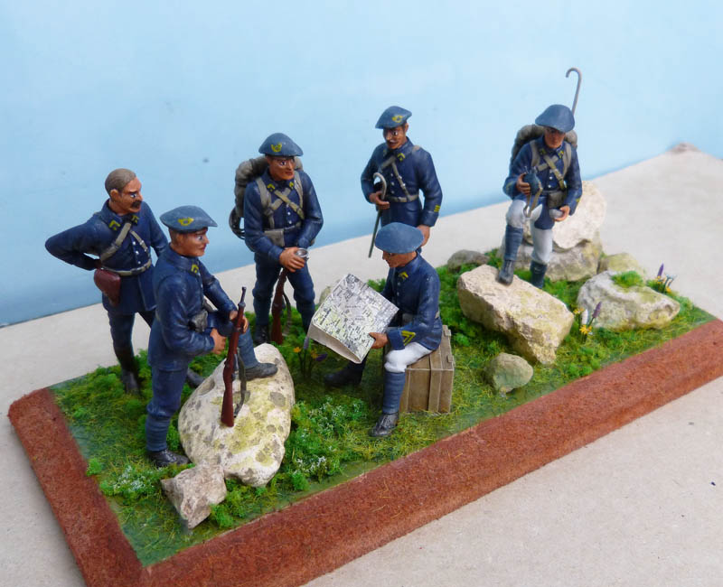 Chasseurs alpins années 30 - Heller - 1/35. Chasse15