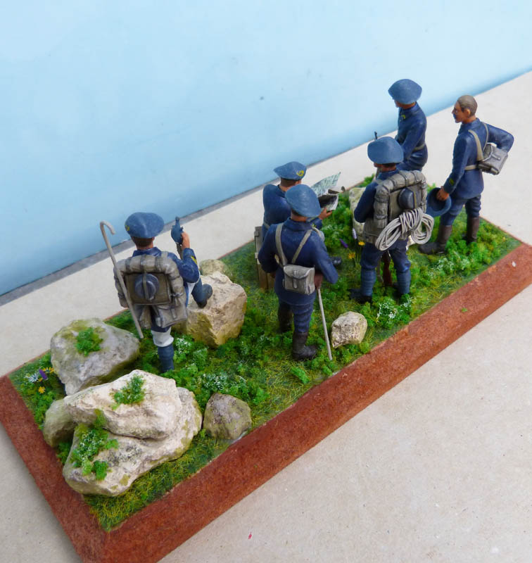 Chasseurs alpins années 30 - Heller - 1/35. Chasse16