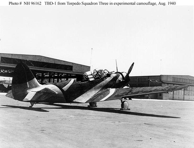 """Devastator"" avec camouflage test en 1940 - Base Airfix - 1/72. Devas010"