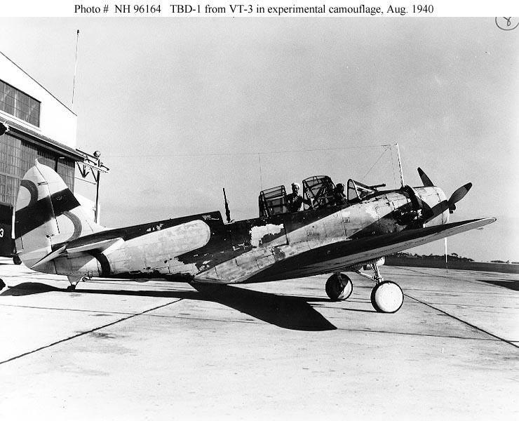 """Devastator"" avec camouflage test en 1940 - Base Airfix - 1/72. Devas012"