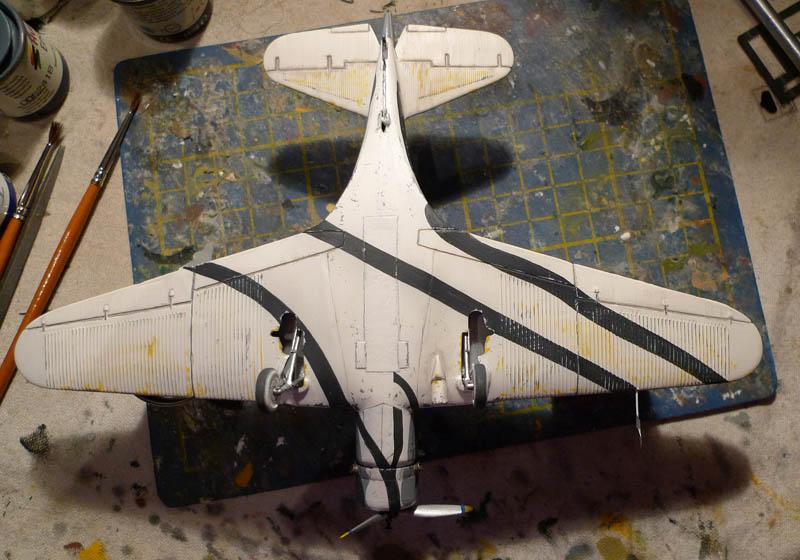 """Devastator"" avec camouflage test en 1940 - Base Airfix - 1/72. Devast10"