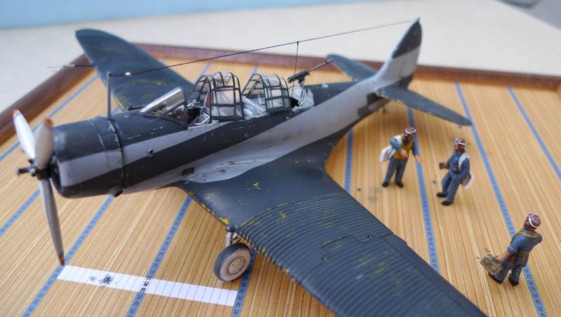 """Devastator"" avec camouflage test en 1940 - Base Airfix - 1/72. Devast11"