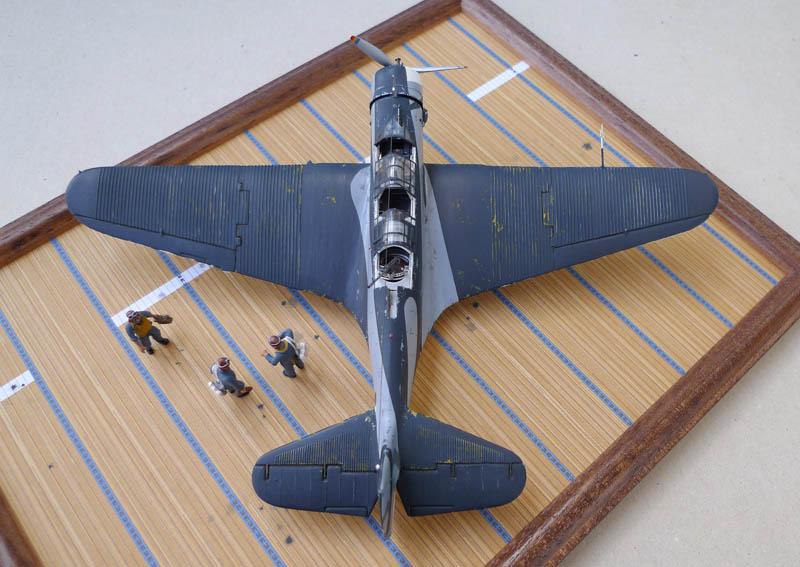 """Devastator"" avec camouflage test en 1940 - Base Airfix - 1/72. Devast12"