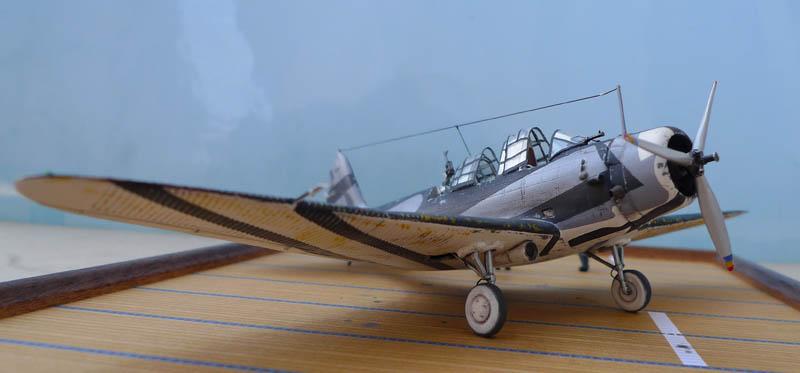 """Devastator"" avec camouflage test en 1940 - Base Airfix - 1/72. Devast13"