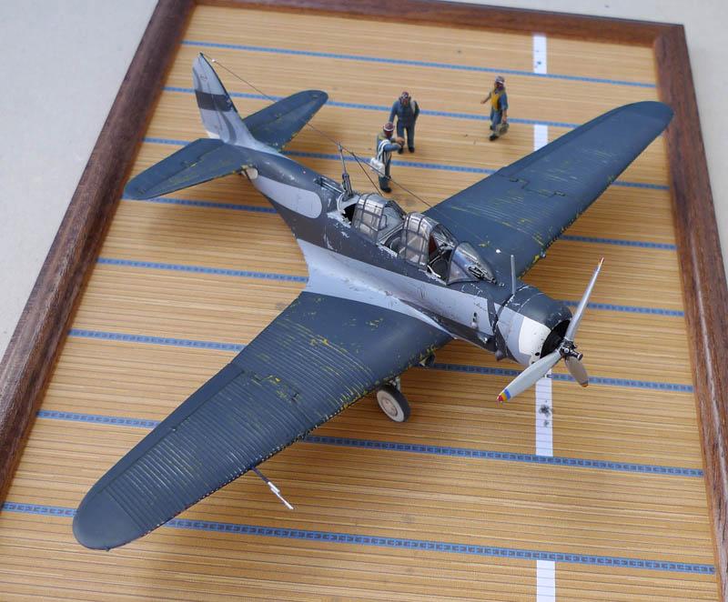"""Devastator"" avec camouflage test en 1940 - Base Airfix - 1/72. Devast15"