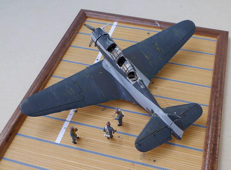 """Devastator"" avec camouflage test en 1940 - Base Airfix - 1/72. Devast16"