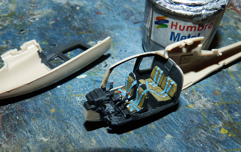"Gazelle ""Daguet"" - Base Airfix (additif Heller) - 1/72. Hot_2011"