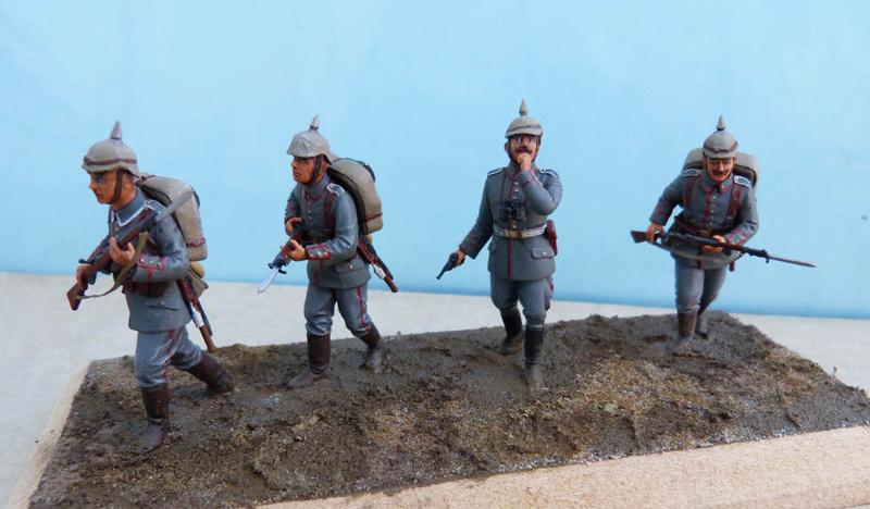 Assaut allemand en 1914  Revell (ICM) 1/35 Infant19
